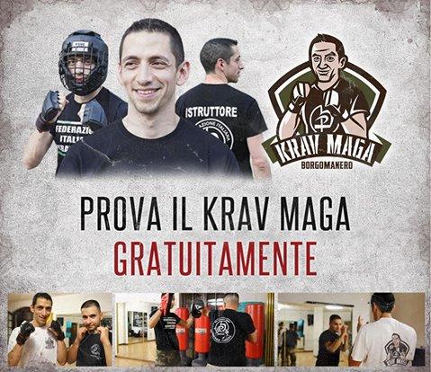 Riprendono i corsi di Krav Maga a Borgomanero
